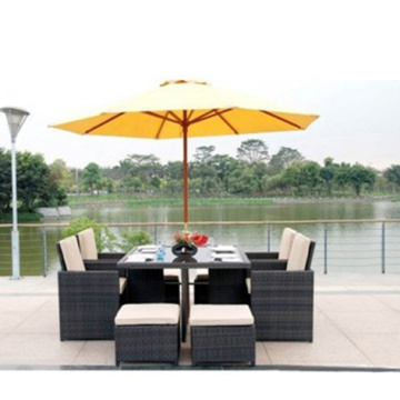 Rattan Weave Sectional Patio Garden Set