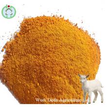 Polvo de proteína de alimentación de gluten de maíz de harina de maíz y maíz