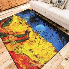 HD Digital Printed Living Room Rug