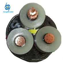 Cable de alimentación blindado de 11KV 3x50mm2 PVC 3 Core