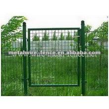 Puerta del jardín metel