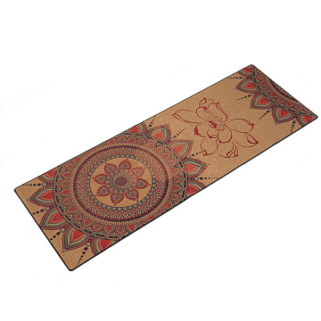 Natural rubber eco hemp yoga mat private label jute yoga mat