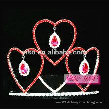 Valentine's day promotion geschenk billig Schönheitswettbewerb tiara