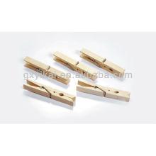 Juego de 24 piezas mini clavijas de madera brich