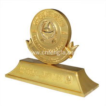Golden plating promotion souvenir items