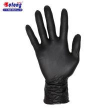 Solong tatouage S / M / L / autorisé 100pcs noir nitrile stérilisé gants de tatouage jetables