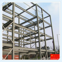 Estructura de acero grande para taller o almacén