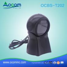 OCBS-T202 2D QR Omni Escáner de código de barras direccional para RetailStroe / Supermarket