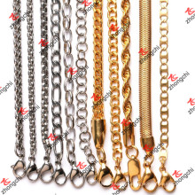 Custom Brass/Stainless/Iron Chain Necklace for Pendants Accessories (NC132)