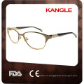 2017 Wonderful Lady metal optical eyeglasses & metal optical frame