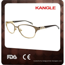 2017 Wonderful Lady metal optical eyeglasses & metal optical frame