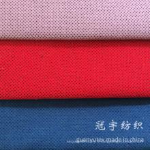 Tissu décoratif en velours côtelé avec support