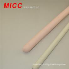 MICC blanco / rosa solo agujero 95% aislador de cerámica de alúmina