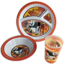 3PCS Melamine Kids Dinner Set