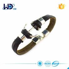 Мода аксессуаров женщин кожаный браслет