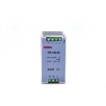 120W 24V 5A Switching Power Supply with Short Circuit Protection