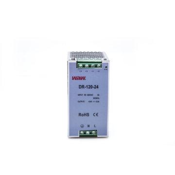 Fonte de alimentação do interruptor de 120W 24V 5A com proteção do curto-circuito