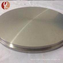 astmb381 gr2 gr5 disques de forge en titane