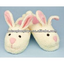 Los más vendidos conejo diseño de peluche zapatillas de interior