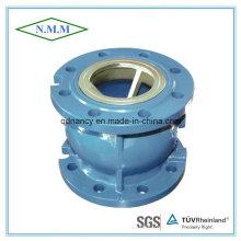 Válvula de retenção silenciosa de extremidade de flange de ferro fundido Pn16