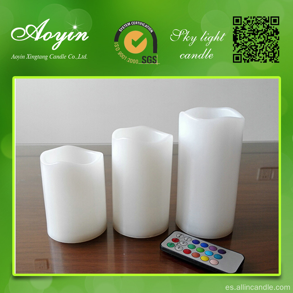 Control remoto LED Candle LED Pillar Candles