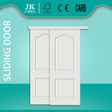 JHK-002 2 Panel Bedroom Door Design Sliding Main Door