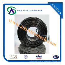 Fio recozido preto de alta elasticidade do ferro do fabricante para a venda
