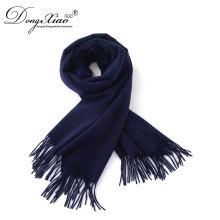Las bufandas de la bufanda de la cachemira al por mayor fijaron la bufanda mongol azul marino del mantón de la cachemira de los EEUU