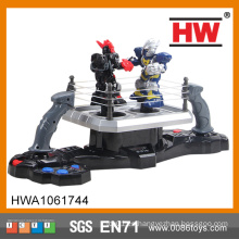 De alta calidad de plástico de pilas de juguete Robot Mini Boxing
