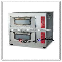 K178 Doppelschichten Elektrischer Plattform Pizzaofen