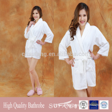 custom logo hotel quality momen's pajamas sleepwear bathrobe