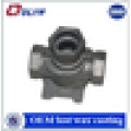 ISO certificated customized gate valve body steel parts investment castings