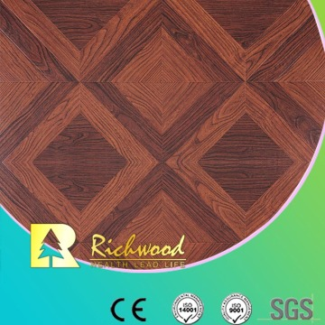 Household12.3mm High Gloss Hickory Sound Absorbing Laminated Floor