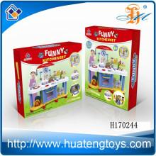 Brinquedos plásticos não tóxicos da ferramenta da cozinha da alta qualidade ajustados para brinquedos ajustados do jogo dos miúdos para a venda