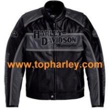 Harley Men's Classic Cruiser Leather Jacket 98140-10VM