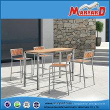 Высокое качество бар набор с 4шт табурет и один бар стол