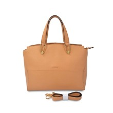 Fashion genuine leather tote bag for women