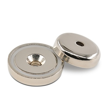 Heavy Duty Neodymium Round Base Pot Magnets