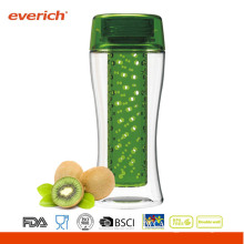 Everich New Tritan Umweltfreundliche BPA Free Fruit Infuser Wasserflasche