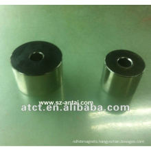 Black nickel coating cylinder magnets