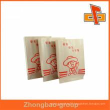 Accept custom order paper bag printing of kraft material