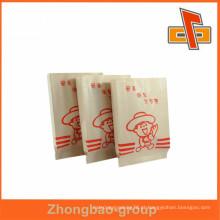 Aceite impressão de saco de papel personalizado ordem de material kraft