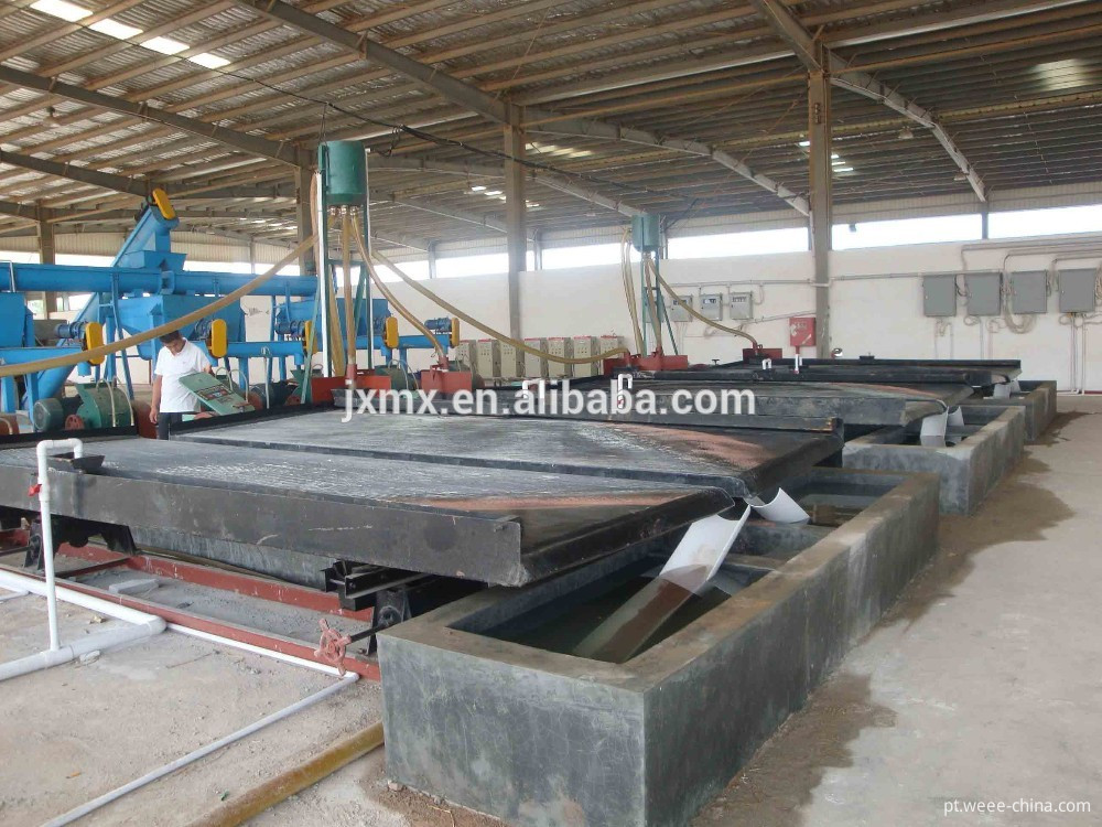 wet type PCB recycling machine