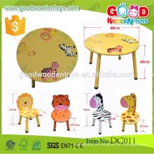 EN71 / ASTM Nuevo diseño Kids mesa y sillas de jardín de infancia educativos muebles de los niños en venta