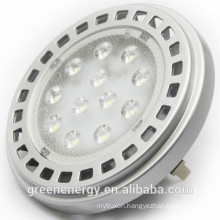 tuv ce 12v 11w 15w g53 led ar111 housing cob ar111 led lamp ar111 gu53