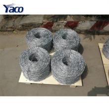 Anti-oxidação quente mergulhado peso galvanizado de arame farpado por metro de comprimento