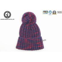 2016 Trendy Winter Warm gestrickte Beanie Cap mit neuem Design