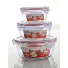 Chinese Hot Sale Plastic Lunch Box with Lid