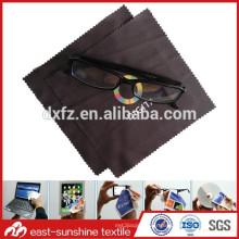 Fabricant chinois chiffon de nettoyage à lunettes en microfibres à chaud