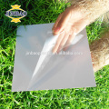 JINBAO 0.5MM 0.8MM 1 1.5mm 2 side glue size customize black pvc sheet price